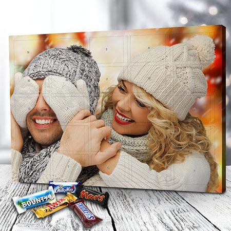 Foto-Adventskalender mit Mixed Minis