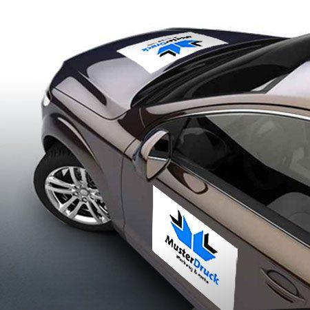 Auto-Magnetschilder