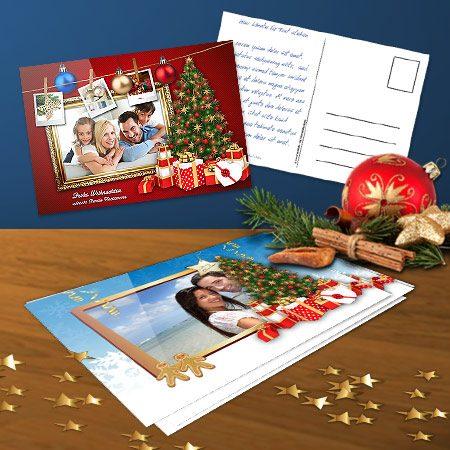 Foto-Weihnachtskarten
