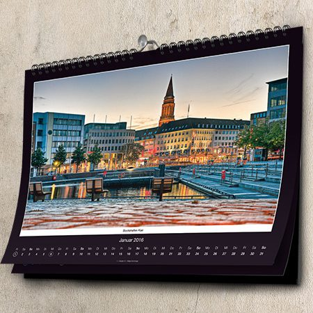 Kalender Kiel - Fotokalender, Bildkalender, Wan...