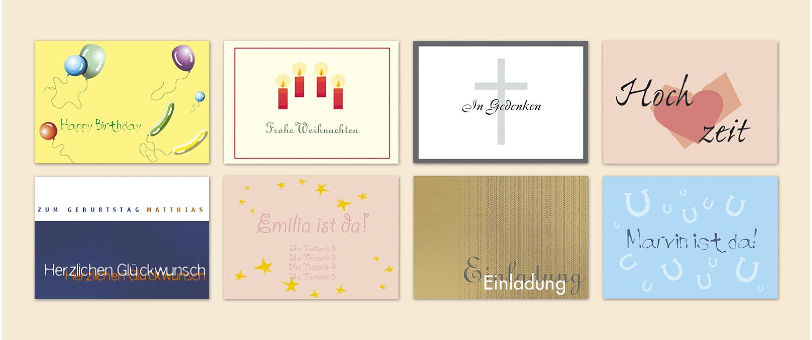 Postkarten Selbst Drucken
