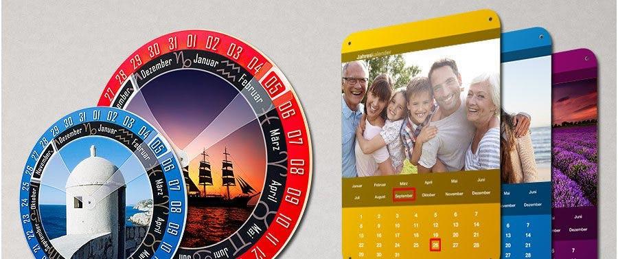 Immerwährender Kalender mit eigenem Foto