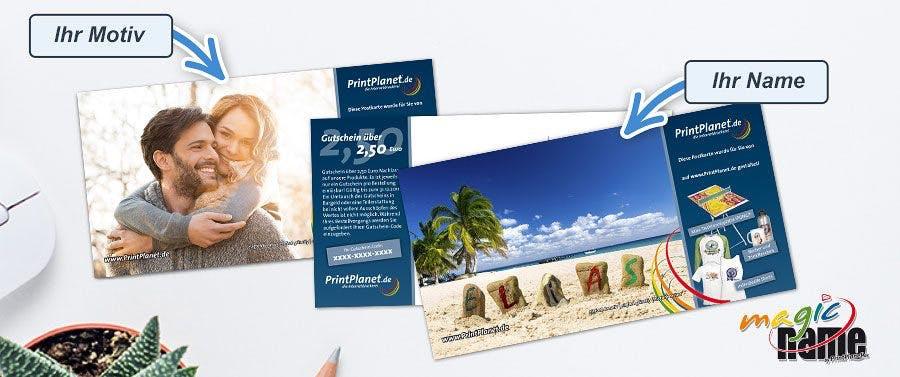 Echte Postkarten kostenlos versenden