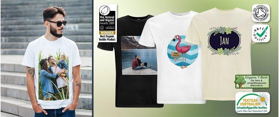 Nachhaltige Organic Shirts mit Textiles Vertrauen-Zertifikat