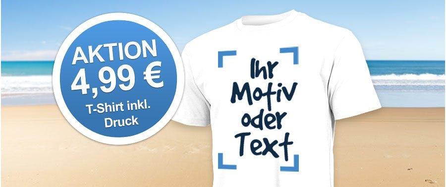 """T-Shirt """"Ultra"""" weiß mit einseitigem Aufdruck zum Aktionspreis von nur 4,99 €*"""