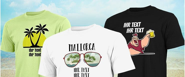 Mallorca Shirts für Frauen und Männer