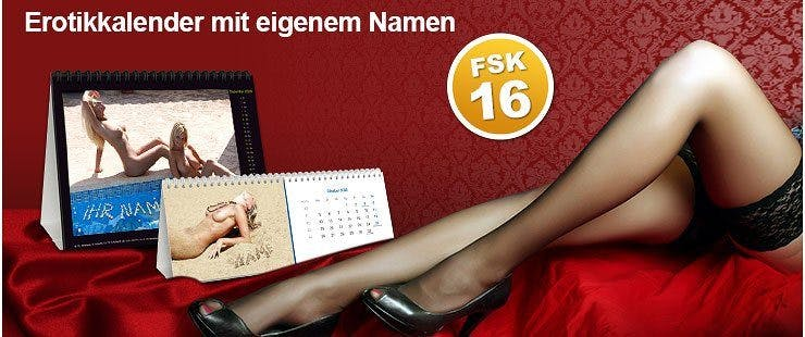 Kalender für Erwachsene bedrucken lassen