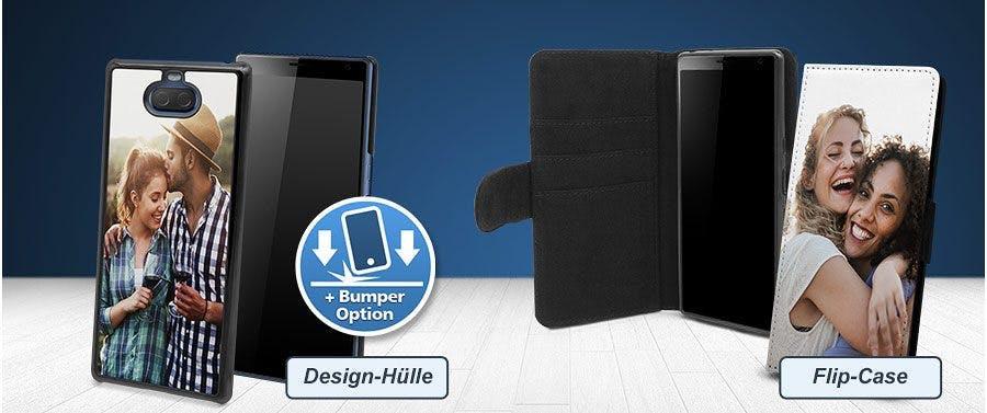 Hardcases und Flipcases für Sony Xperia Modelle