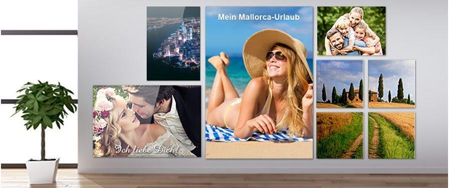 Wandbilder - Ihr Foto auf Leinwand, Acryl und Co.