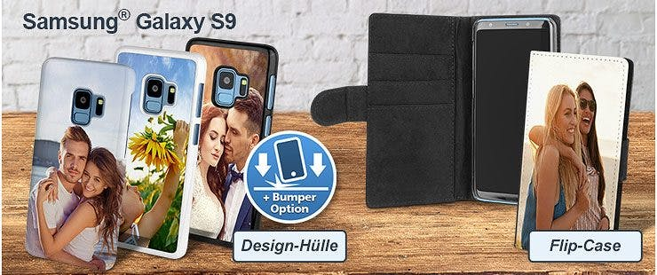 Individuelle Galaxy S9 Hülle bedrucken