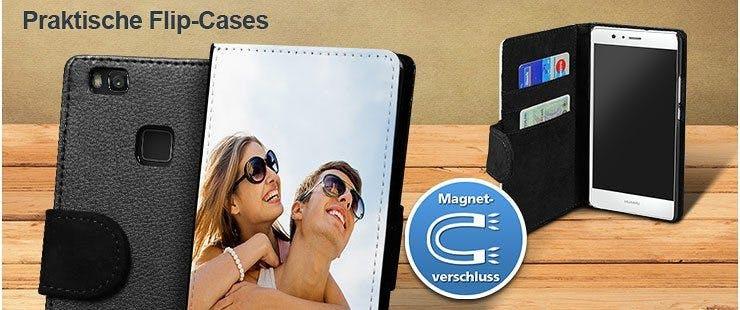 Flip-Cases für Ihr Huawei P9 Lite selbst gestalten