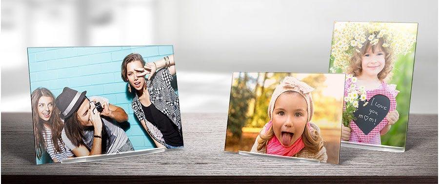 Edle Variante: Foto hinter Acrylglas