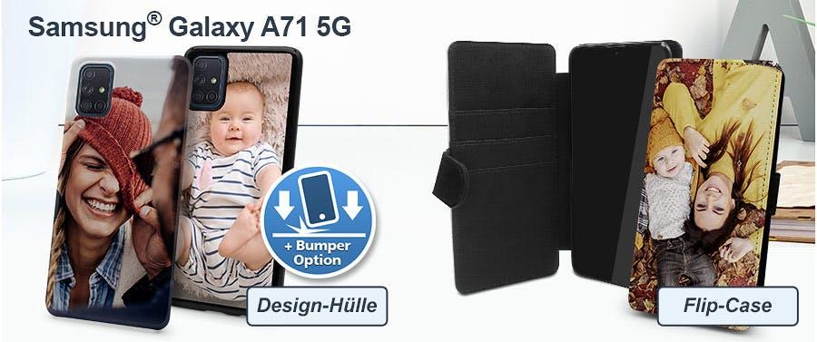 Samsung Galaxy A71 5G Hülle gestalten