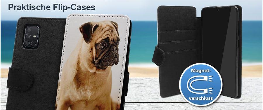 Galaxy A71 5G Flipcase mit Foto