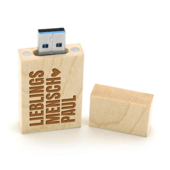 Holz USB-Stick 3