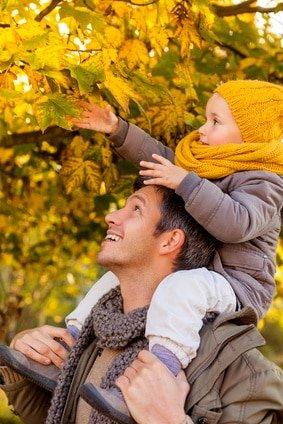Herbstzeit ist Familienzeit