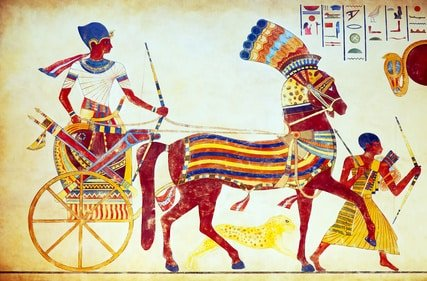 T-Shirts im alten Ägypten