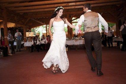 Eröffnungstanz auf der Hochzeitsfeier