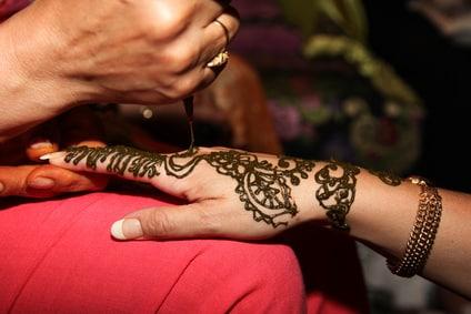 Henna Abend vor der Hochzeit - Türkei