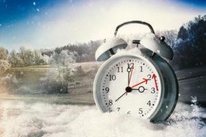 Winterzeit Zeitumstellung