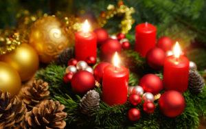 Dritter Advent Adventskranz