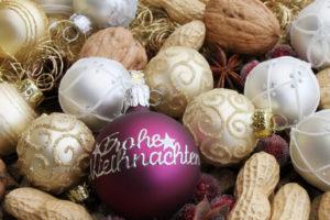 Beschriftete Weihnachtskugel