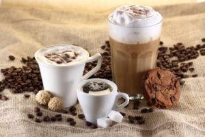 Kaffee, Espresso, Latte Macchiato