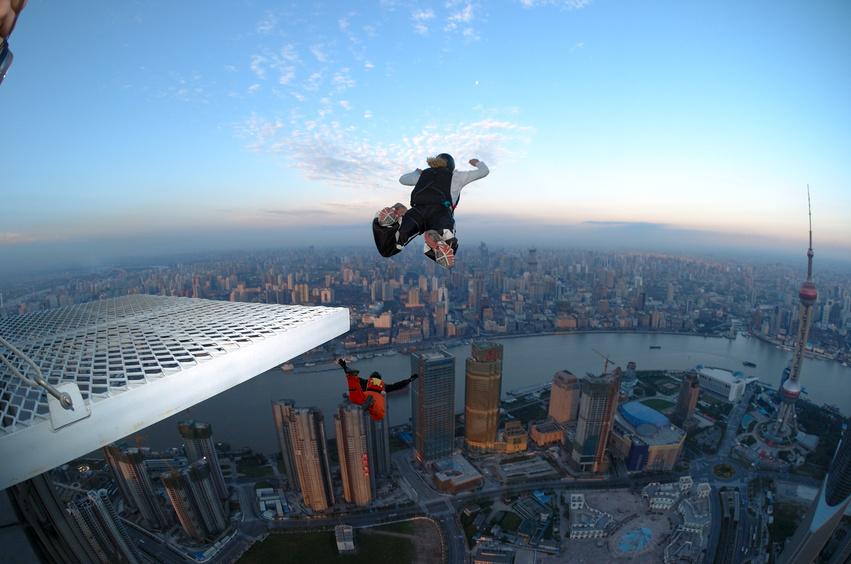 Base-Jumping shanghai