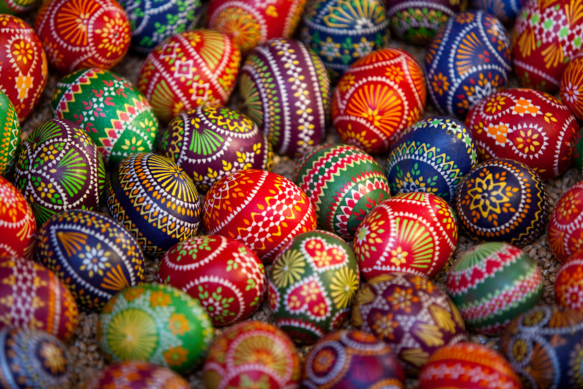 Sorbische Ostereier