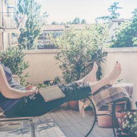 So genießen Sie Ihren Urlaub auf Balkonien