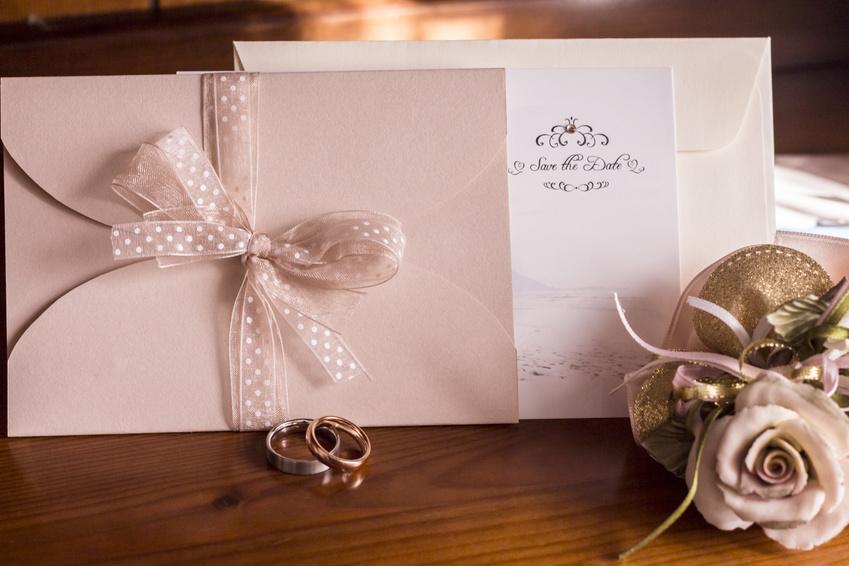 Hochzeitseinladung klassisch