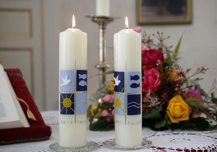 Ein Symbol Der Taufe Bedeutung Und Gebrauch Der Taufkerze