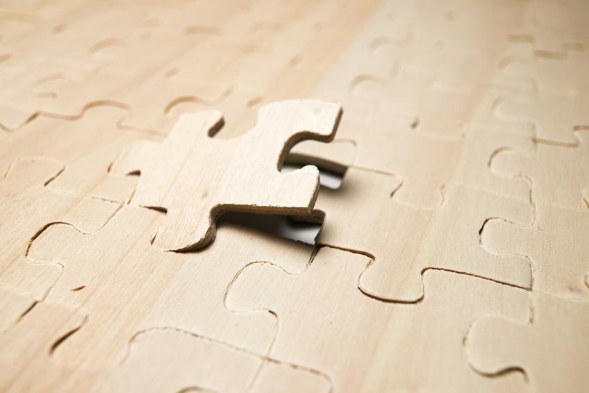 Puzzleteil Holz