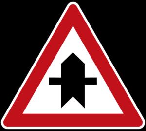 Vorfahrtsstraße Außerorts Parken