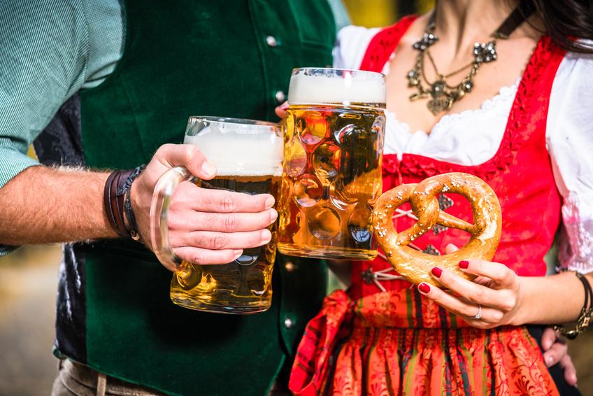 Bier und Brezn